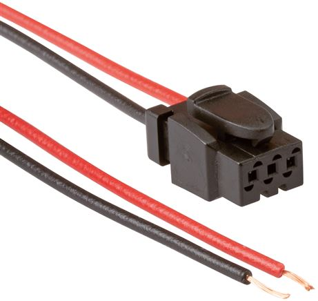 Connection lines, rectangular plug H