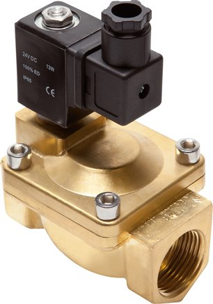 2/2-way solenoid valves made of brass, Eco-Line (will be discontinued)